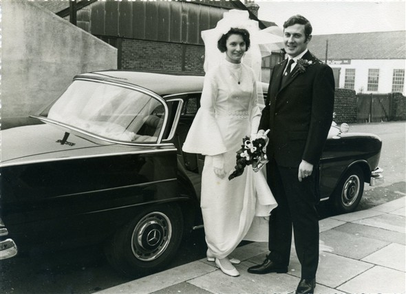 Photo:Betty and I were married in December 1970