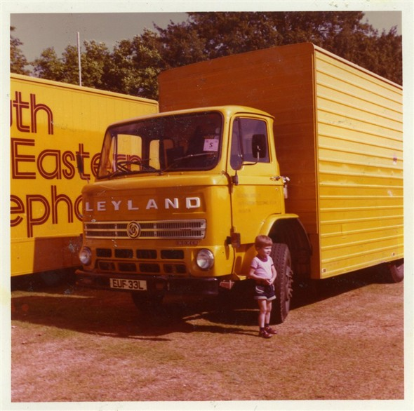 "Photo:Phil with LEYLAND ""Pride of the Fleet"""