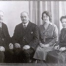 Photo:L-R: Jim, twin brother Charlie, sister Rose, sister Kate