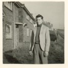 Photo:David John Burtenshaw, 7/3/1931 - 12/8/1990 outside 29, Manor Rd, 1945