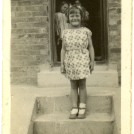 Photo:Me taken at 41 Whitehawk Avenue c1933