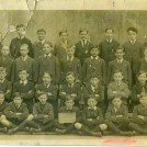 Photo:Class at Pelham Street School approx 1919. 2nd row from top, 3rd from right Charles Frederick Bligh