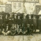 Photo:Staff photo of George Kelsey, Motor Body Builders, Belfast Street, Hove. Front row, 2nd from left, Charles Frederick Bligh who was nephew of George Kelsey who owned the business.