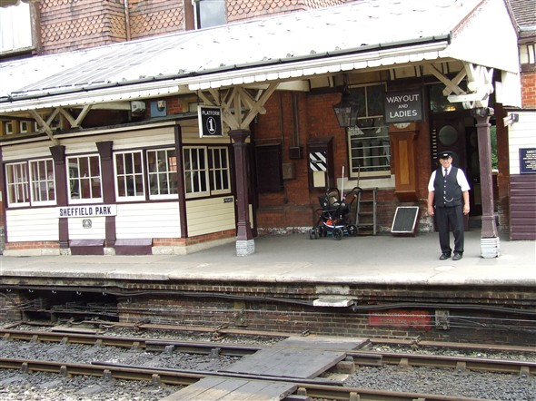 Photo: Illustrative image for the 'Bygones Bluebell Railway Visit' page