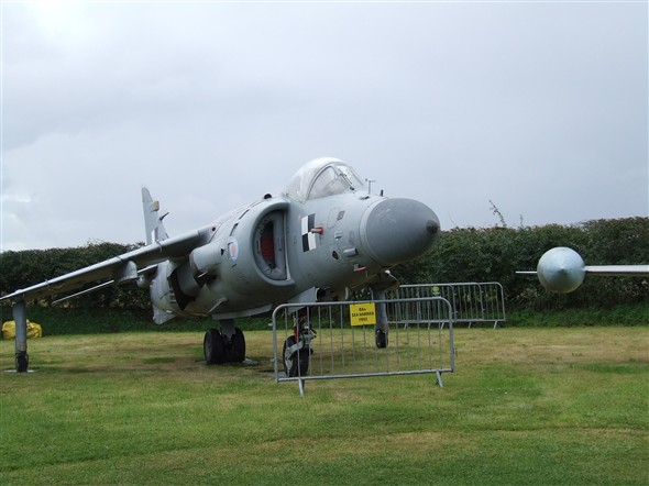 Photo:Sea Harrier