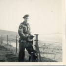 Photo:Douglas Randall 7/10/26, paratrooper, on clifftop opposite Marine Gate, Brighton