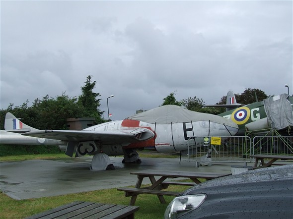 Photo:De Havilland Vampire