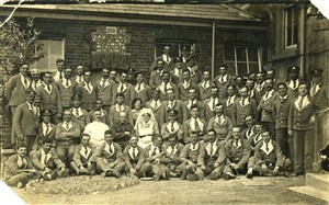 Photo:Seated 3rd from the right is Alfred E. Cannon