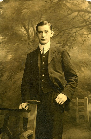 Photo:Arnold Woodcock, aged 27