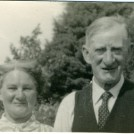 Photo:My parents, Mr and Mrs Arnold Woodcock. The first holiday in their lifetime, with me at Butlin's Holiday Camp, 22.07.1958.
