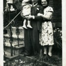 Photo:Me with my father, Berto and my mother, Maria outside the house at 44 King's Cross Road, London. We had the basement flat - other family members lived upstairs.