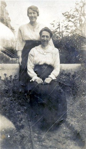 Photo:Clara Stoner and one of her daughters