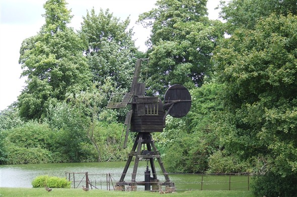 Photo:Wind pump from Pevensey, Sussex