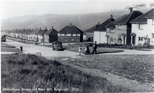 Photo:Whitehawk Estate and Race Hill (top of Whitehawk Way)