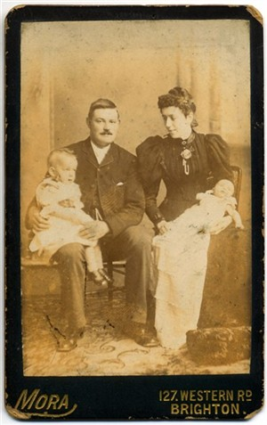 Photo:George, Clara and Frederick Stoner (pic2)