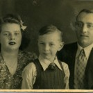Photo:My sister Ida, me, my father Berto