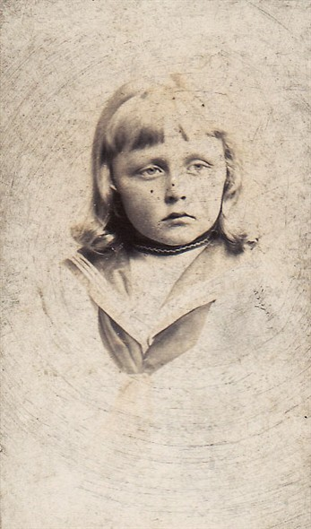 Photo:Uncle Victor Suhr as a child
