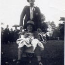 Photo:Mum's brother Joe and sister Edie (Lillywhite) as the 'Bisto Kids' - Westbourne Carnival (West Sussex) 1930's?