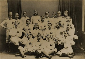 Photo: Illustrative image for the 'James Alfred Body England Rugby International 1872/1873' page