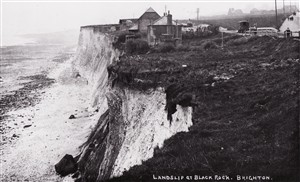 Photo:Landslip at Black Rock (again!)