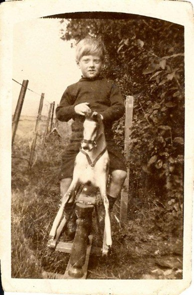 Photo:Norman, my dad, aged 6.