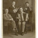 Photo:My father playing the mandoline in a quartet in London circa 1926