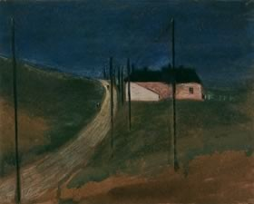 Photo:Study of a road near Rottingdean by Sir Edward C. Burne-Jones