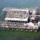 Photo:West Pier aerial view, 21 April 2003